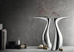 Ibis Vase by Georg Jensen