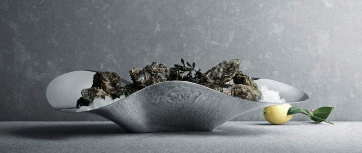 Indulgence Oyster Tray by Georg Jensen