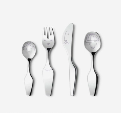 Alfredo The Twist Family Cutlery 4pcs by Georg Jensen