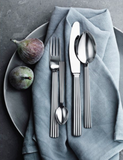Bernadotte 5 Piece Cutlery Set by Georg Jensen