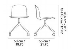 Visu Wide Chair by Muuto