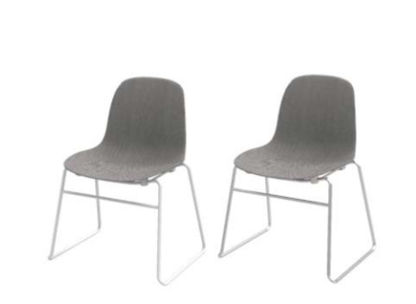 Form Chair Stacking Full Upholstery By Normann Copenhagen