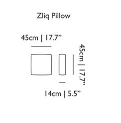 Zliq Back Pillows by Moooi