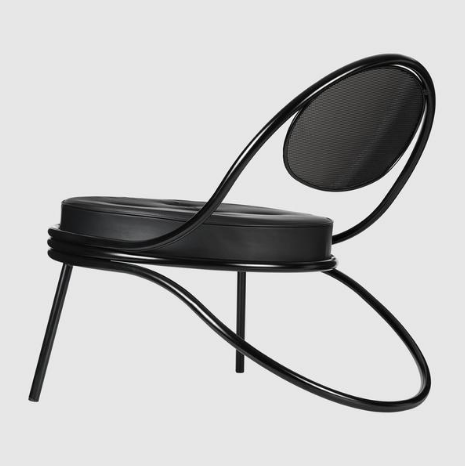 Copacabana Lounge Chair - Fully Upholstered by Gubi