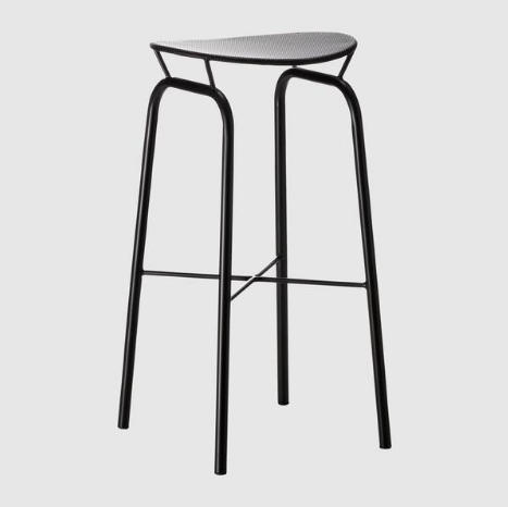 Mathieu Mategot Nagasaki Bar Stool by Gubi