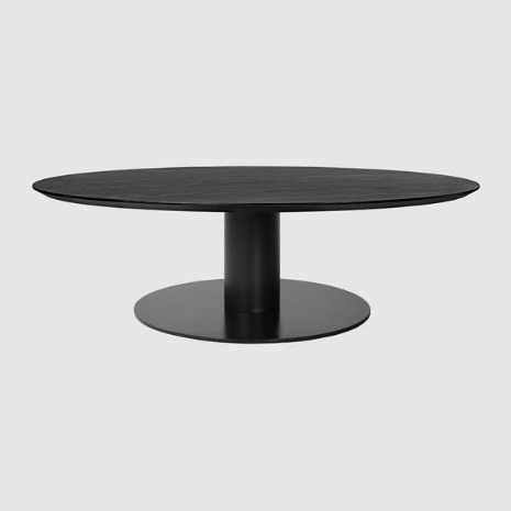 2.0 Coffee Table w/ Black Base by Gubi