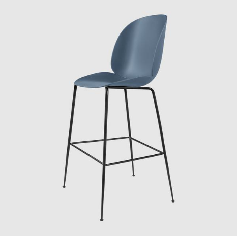Beetle Bar/Counter Chair Unupholstered by Gubi