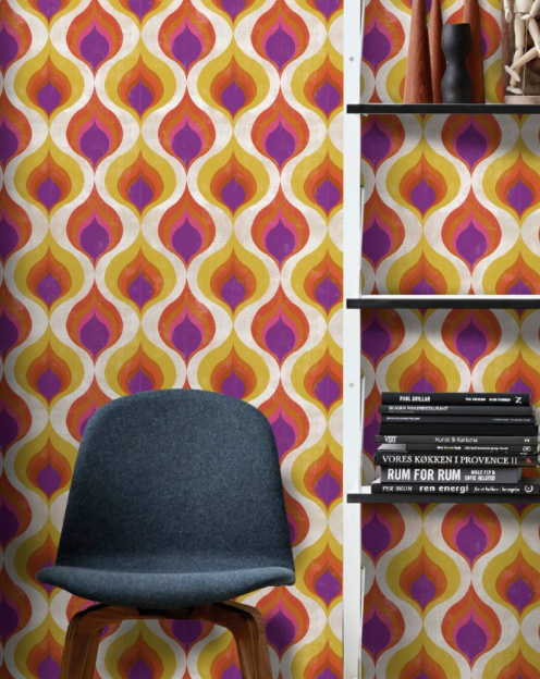 Ottoman Pattern Wallpaper by Mindthegap