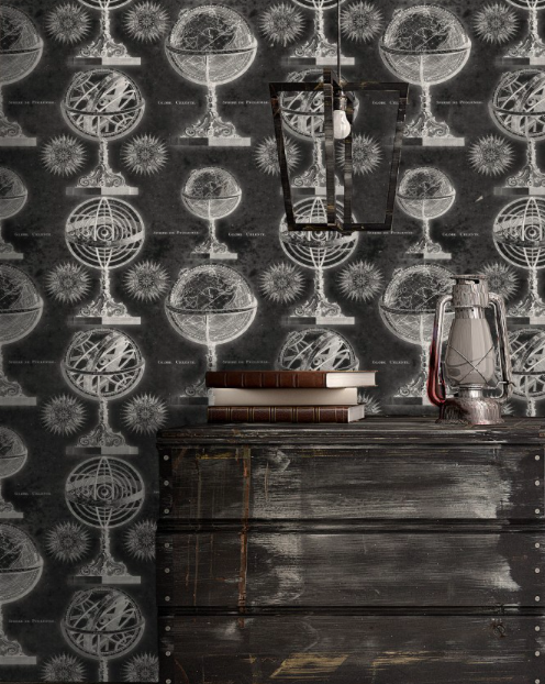 Armillary Wallpaper by Mindthegap