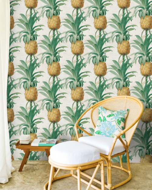 Ananas Wallpaper by Mindthegap