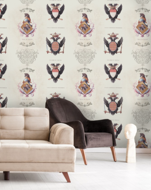 Coats of Arms Wallpaper by Mindthegap