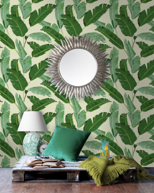 Banana Leaves Wallpaper by Mindthegap