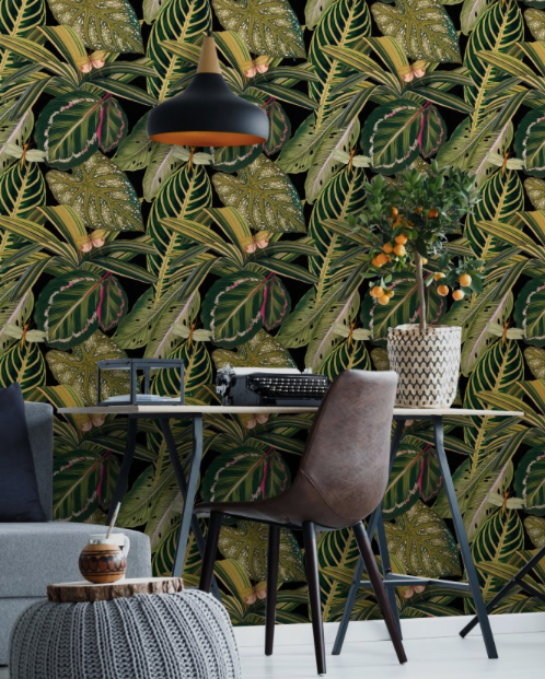 Amazonia Wallpaper by Mindthegap