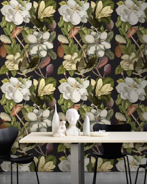 Magnolia Wallpaper by Mindthegap