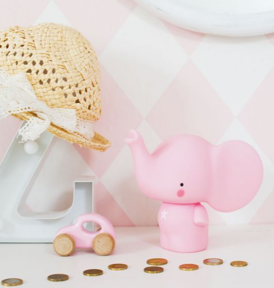 Elephant Money Box by A Little Lovely Company