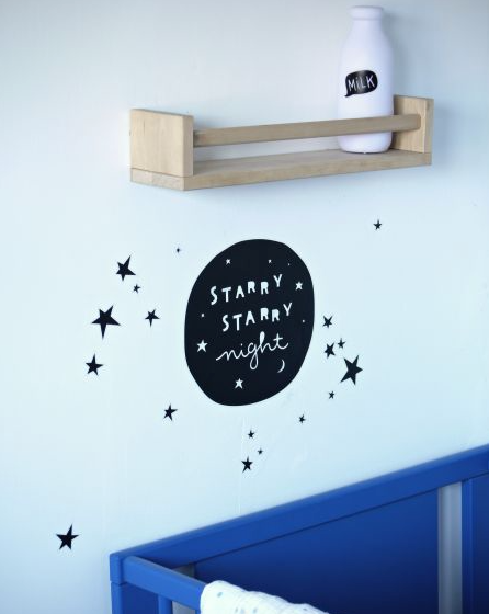 Starry Night Wall Stickers by A Little Lovely Company