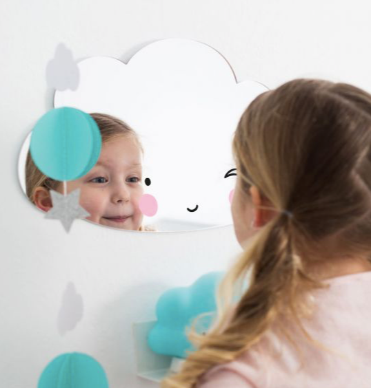 Cloud Mirror by A Little Lovely Company