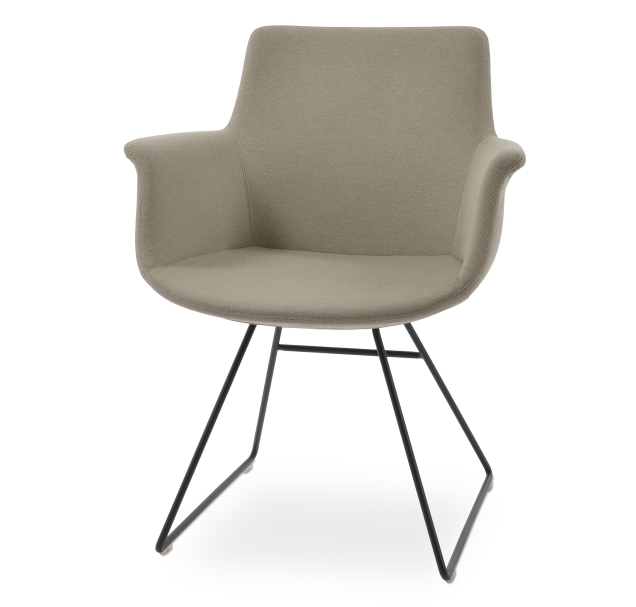 Bottega Arm Wire Chair by Soho Concept