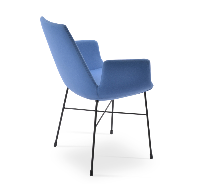Eiffel Arm Cross Chair by Soho Concept