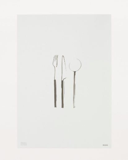 Cutlery Poster by Frama