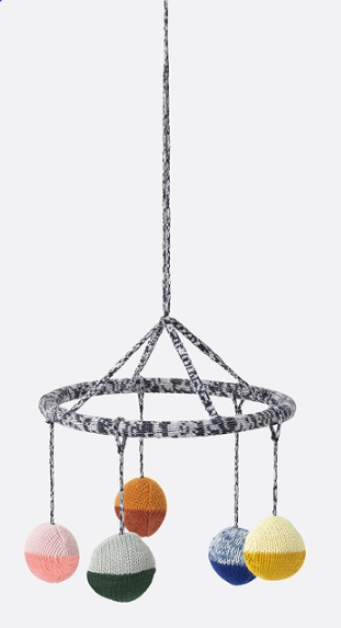 Ball Knitted Hanging Mobile by Ferm Living