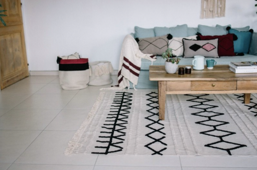 Bereber Canvas Rug by Lorena Canals
