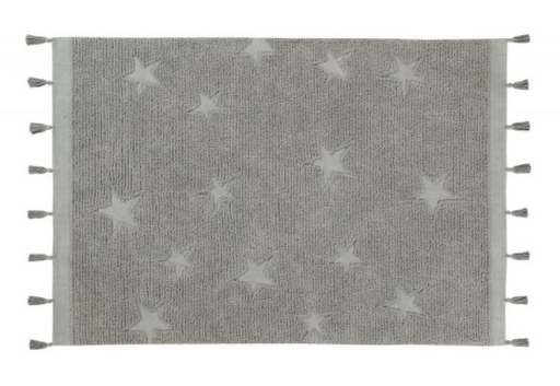 Hippy Stars Rug by Lorena Canals