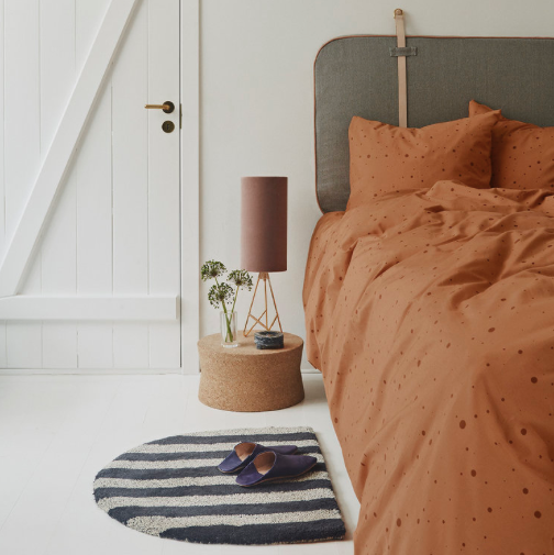 Dot Bedding in Caramel by OYOY