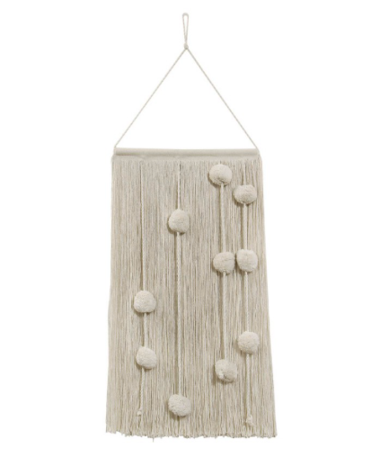 Cotton Field Wall Hanging by Lorena Canals