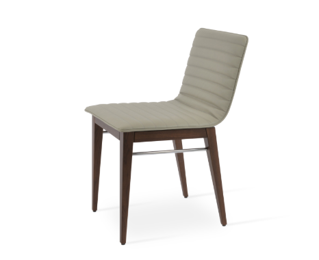 Corona Wood Dining Chair - Fully Upholstered by Soho Concept