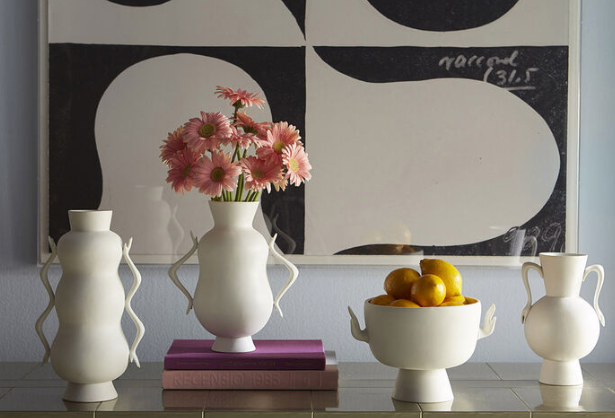 Eve Pedestal Bowl by Jonathan Adler