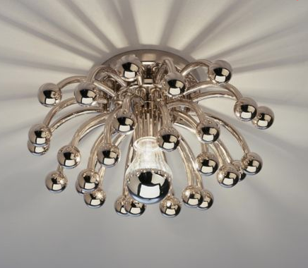 Anemone Wall/Ceiling Light by Robert Abbey
