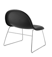 3D Lounge Chair w/ Sledge Base Fully Upholstered by Gubi