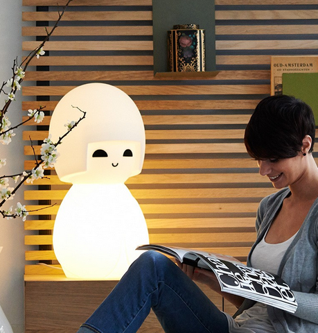 Kokeshi lamp by Mr Maria