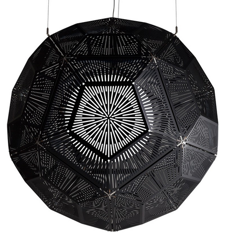Ball Pendant Light Black by Tom Dixon