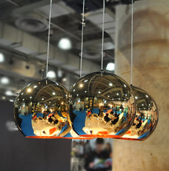 Copper Shade Pendant Light by Tom Dixon