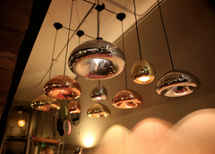 Void Mini Pendant Light by Tom Dixon