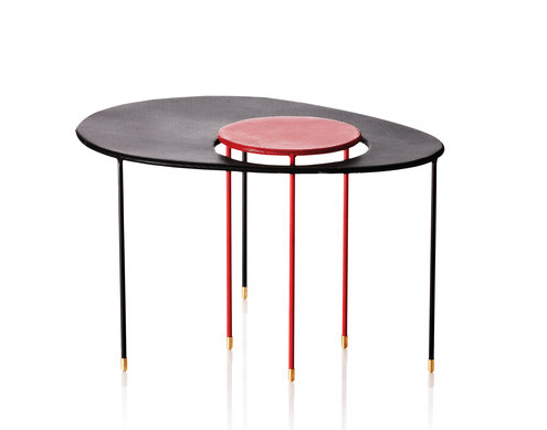Mathieu Mategot Kangourou Table by Gubi