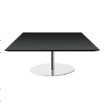 Gubi A1 - A2 - A3 (39,5 cm Height) Square Table