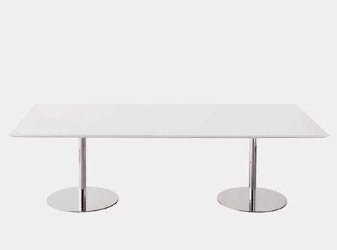 Gubi B11 to B16 (72,5 cm Height) Rectangular Table