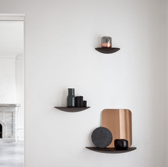 Gridy Fungi Wall Hung Floating Shelf by Menu