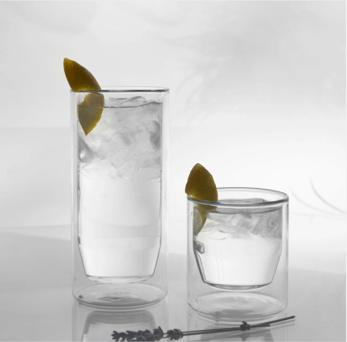 Double Wall 16oz Glass Set by Yield (Made in USA)