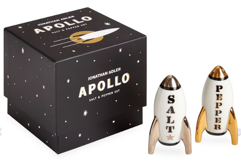 Apollo Salt & Pepper Shakers by Jonathan Adler
