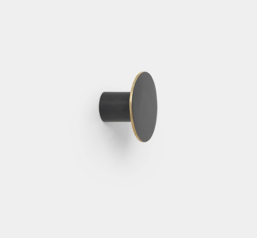 Black Brass Hook by Ferm Living