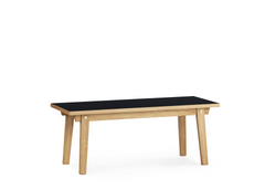 Slice Linoleum Coffee Table by Normann Copenhagen