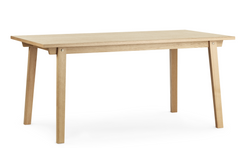 Slice Vol. 2 Oak Bar Table by Normann Copenhagen