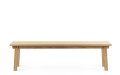 Slice Vol. 2 Oak Bench by Normann Copenhagen
