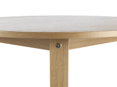 Slice Vol. 2 Oak Round Table by Normann Copenhagen