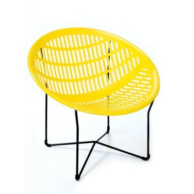"Solair ""Motel"" Outdoor Chair by IEL Lachance (Made in Quebec, Canada) Pickup Only!"