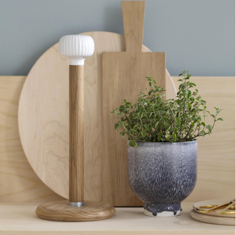 Hammershøi Kitchen Roll Holder by Kähler